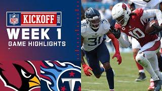 Cardinals vs. Titans Week 1 Highlights   NFL 2021