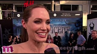 Maleficent Premiere With Stars Angelina Jolie and Elle Fanning! Thumbnail