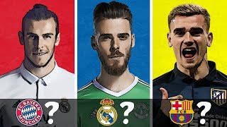 Top 20 Summer Transfer Targets of 2018