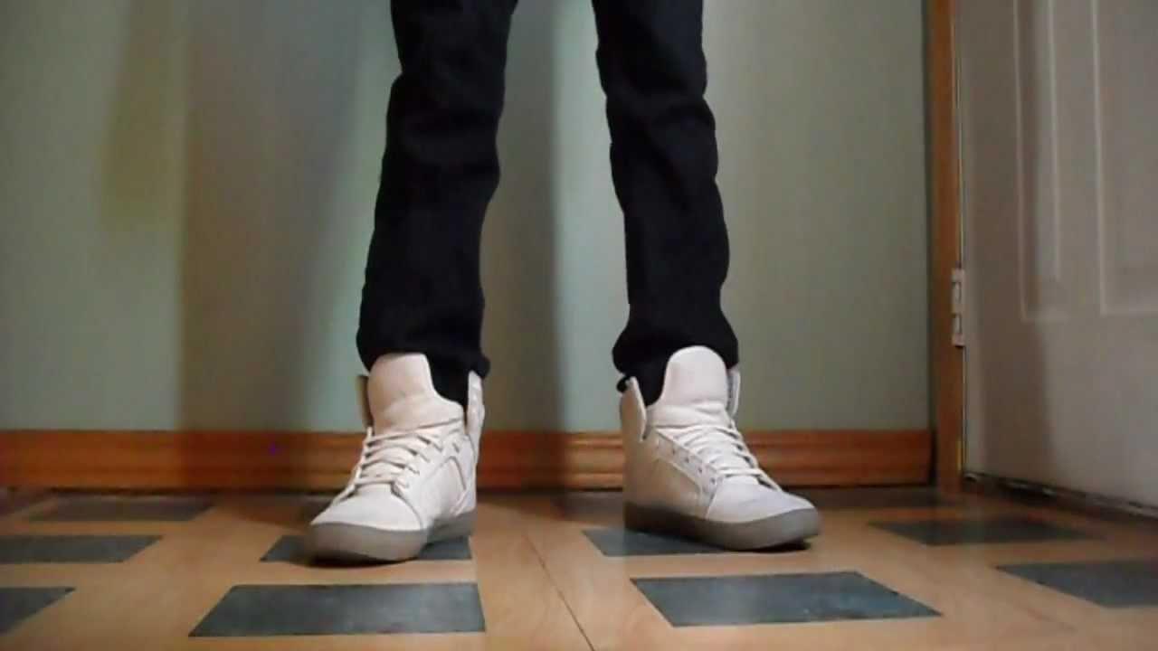 buy online 29d35 6f0b6 Supra Skytop Off White Canvas On Feet   Doovi