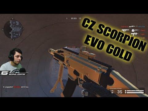 WARFACE - CZ SCORPION EVO  GOLD / FREE FOR ALL thumbnail