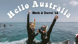Ankommen in Australien // WORK & TRAVEL AUSTRALIA