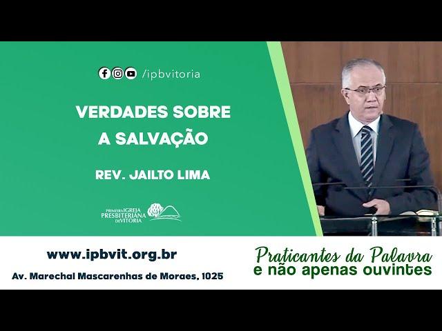 Rev. Jailto Lima - Filipenses 1.1-6