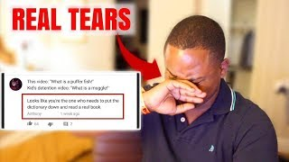 Reading My VIDEO COMMENTS | THEY WENT OFF!!!