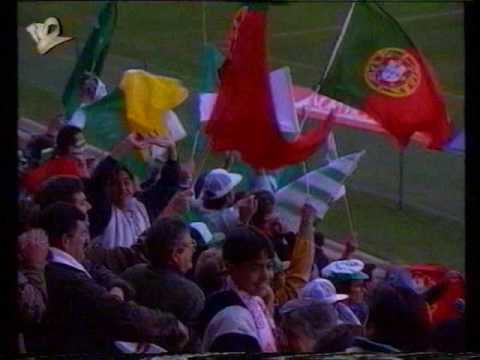 Sporting - 3 x Moroka Swallows (África do Sul) - 0 de 1992/1993 (13/06/1993)