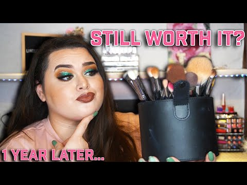 MORPHE BRUSHES 1 YEAR LATER ARE THEY WORTH IT? DO THEY LAST? Morphe X James Charles Brush Set