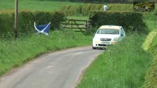 James Ford - Jim Clark Rally/Charterhall Stages 2013 [HD]
