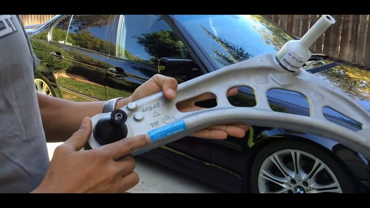 Bmw E46 330i Zhp Lower Control Arms Replacement Youtube