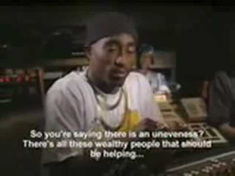 Tupac Shakur Speaks on Poverty and Inequality