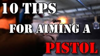 Pistol Shooting Tips for Beginners and Pro's