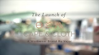 Celebration of Launch of Cape and Cloth - VajorXWeWork