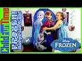 Disney Frozen Videos Surprise Egg Worlds Biggest Ever Elsa Anna Olaf Toys Let It Go Song Wand