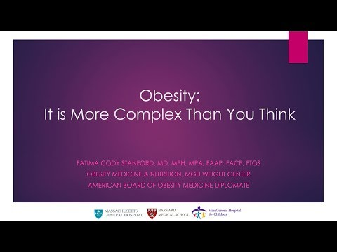 Obesity: It's More Complex than You Think | Fatima Cody Stanford || Radcliffe Institute