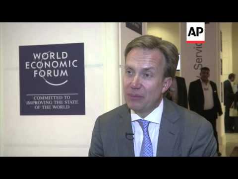 World Economic Forum MD comments on Middle East economy and peace process