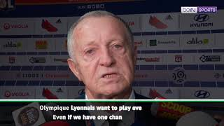 Lyon president Jean-Michel Aulas says team can dream of beating Barcelona