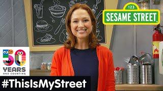 Sesame Street Memory: Ellie Kemper | #ThisIsMyStreet