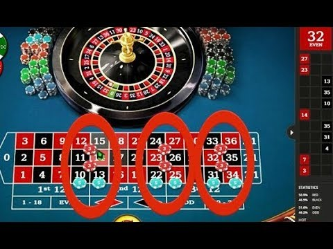 Roulette system down tabs