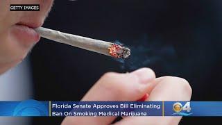 Florida Senate Approves Bill Eliminating Ban On Smoking Medical Marijuana