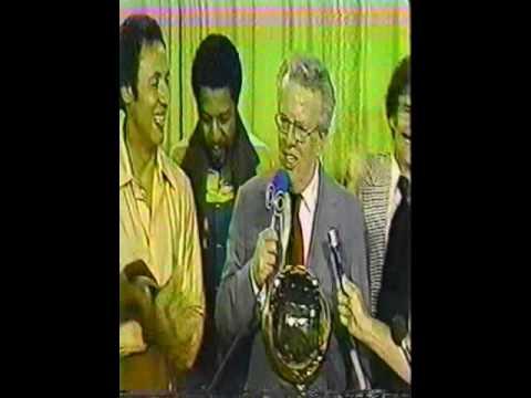 1979 NBA Finals Trophy Presentation