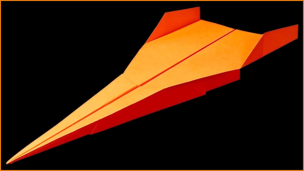 How To Make A Paper Airplane That Flies Far Best Airplanes In The World Linda You
