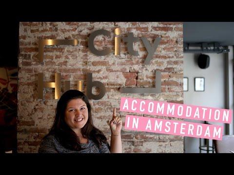 Sleeping In Hubs In Amsterdam!
