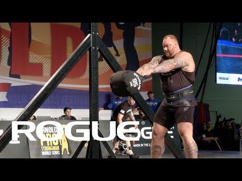 2018 Arnold Strongman Classic | Bag Over Bar - Full Live Stream Event 1