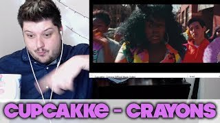 CupcakKe - Crayons (Official Music Video) [REACTION]