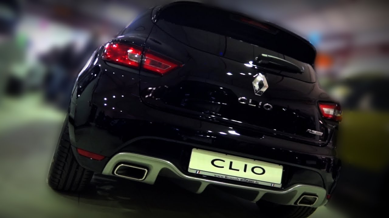 Clio Rs 4 >> Renault Clio RS Cup Turbo 200 EDC in Detail & Sound - YouTube