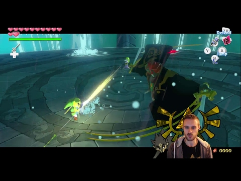 End of Wind Waker 100% run + some Battlefield at the end