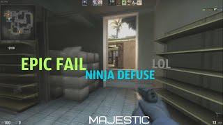 CS:GO - EPIC Ninja Fail!