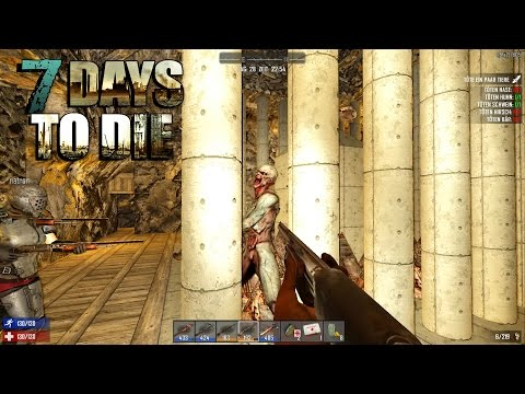 7 Days to Die – Nacht 28 - Anders als geplant ◈ Gameplay Ger