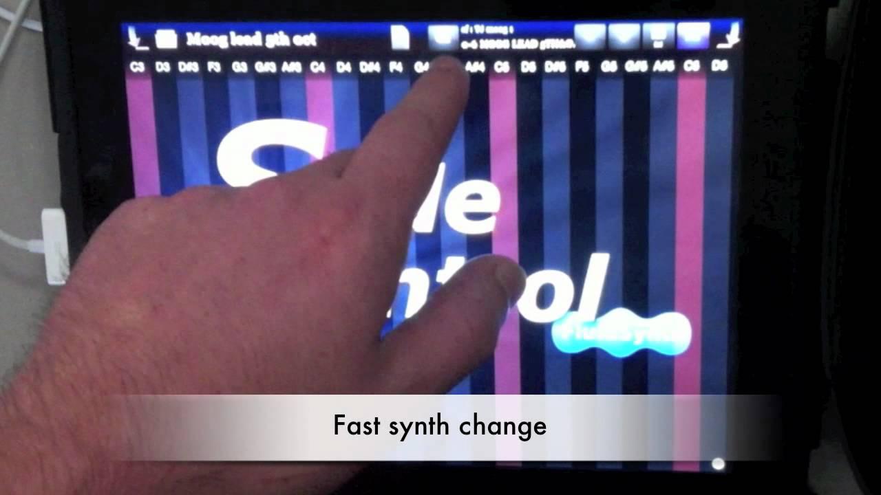 Pro Music Apps » Blog Archive Slide Control FluidSynth - Pro
