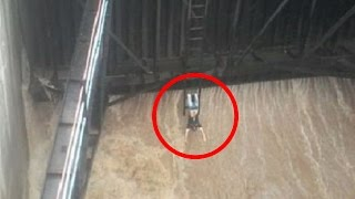 Video: Youth Performs a Deadly Stunt at Madhyameshwar Dam in Nashik