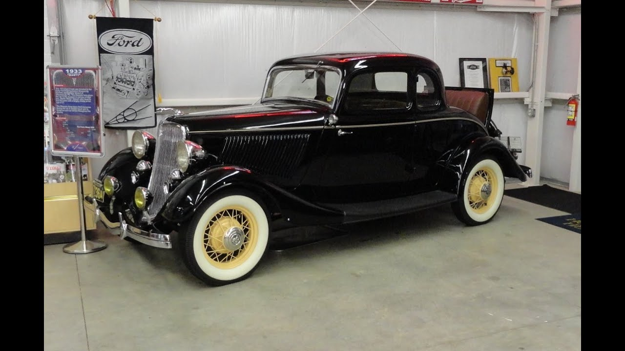 1933 ford deluxe 5 window coupe at the early ford v 8 for 1933 ford 5 window coupe