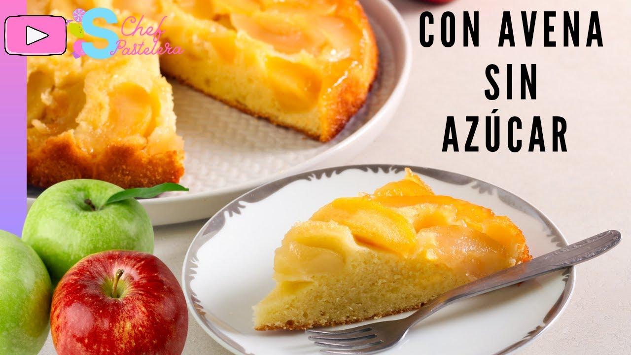 Tarta De Manzana Y Avena Sin Horno Sin Azúcar Bajas Calorías Lista En 15 Minutos Youtube
