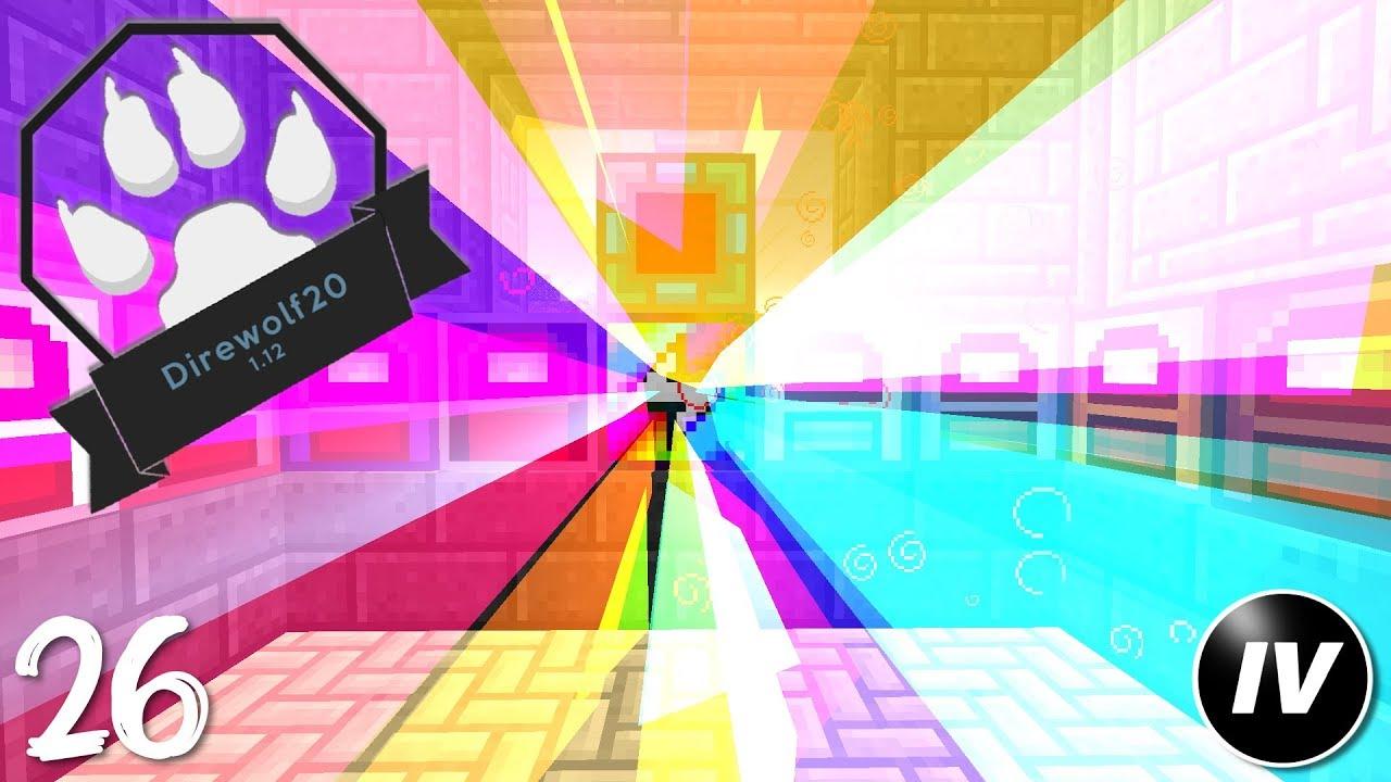 Direwolf20 1 12 - Ep 26 - Rainbow Generator Online