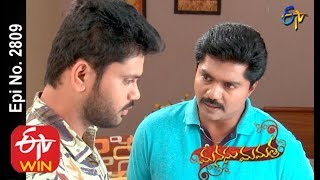 Manasu Mamata | 20th January 2020 | Full Episode No 2809 | ETV Telugu