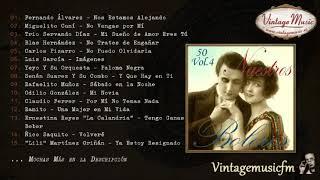 50 Nuestros Boleros - Volumen #4. (Full Album/Álbum Completo)