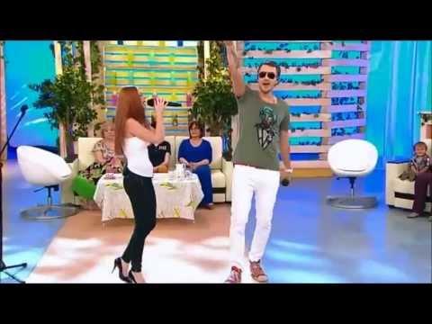 T-Killah feat. Lena Katina - Interview & Ya Budu Ryadom - Live at Dobrovo Zdoroviza