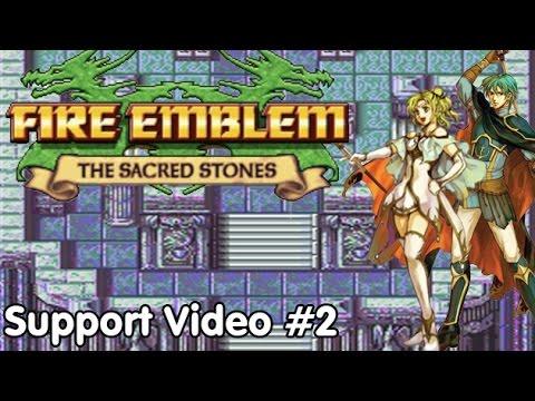 Slim Plays Fire Emblem: Sacred Stones - Support Bonus Video #2