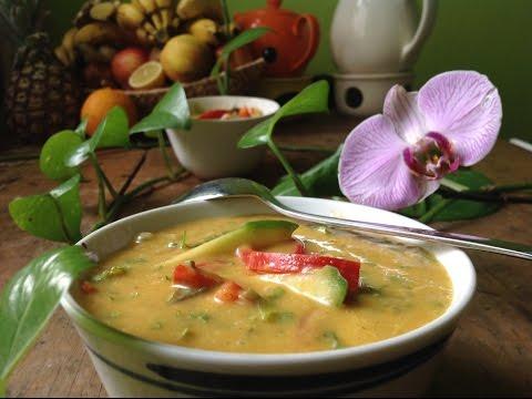 Thai Curry Soup ~ Live Entrée