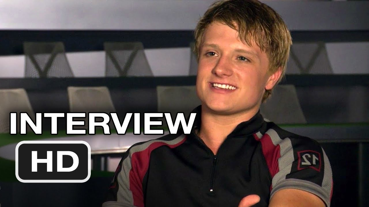 The Hunger Games - Josh Hutcherson Interview (2012) HD ...