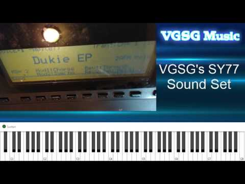 VGSG's SY77 Sound Set - Overview - YouTube