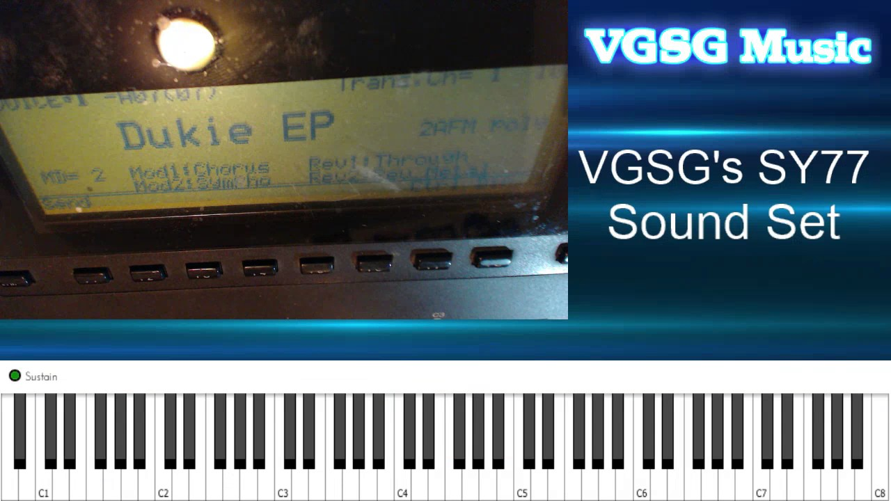 VGSG's SY77 Sound Set - Overview