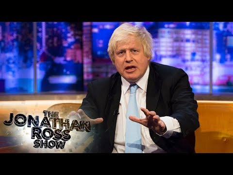 Boris Johnson Didn't Want To Be Prime Minister | The Jonathan Ross Show