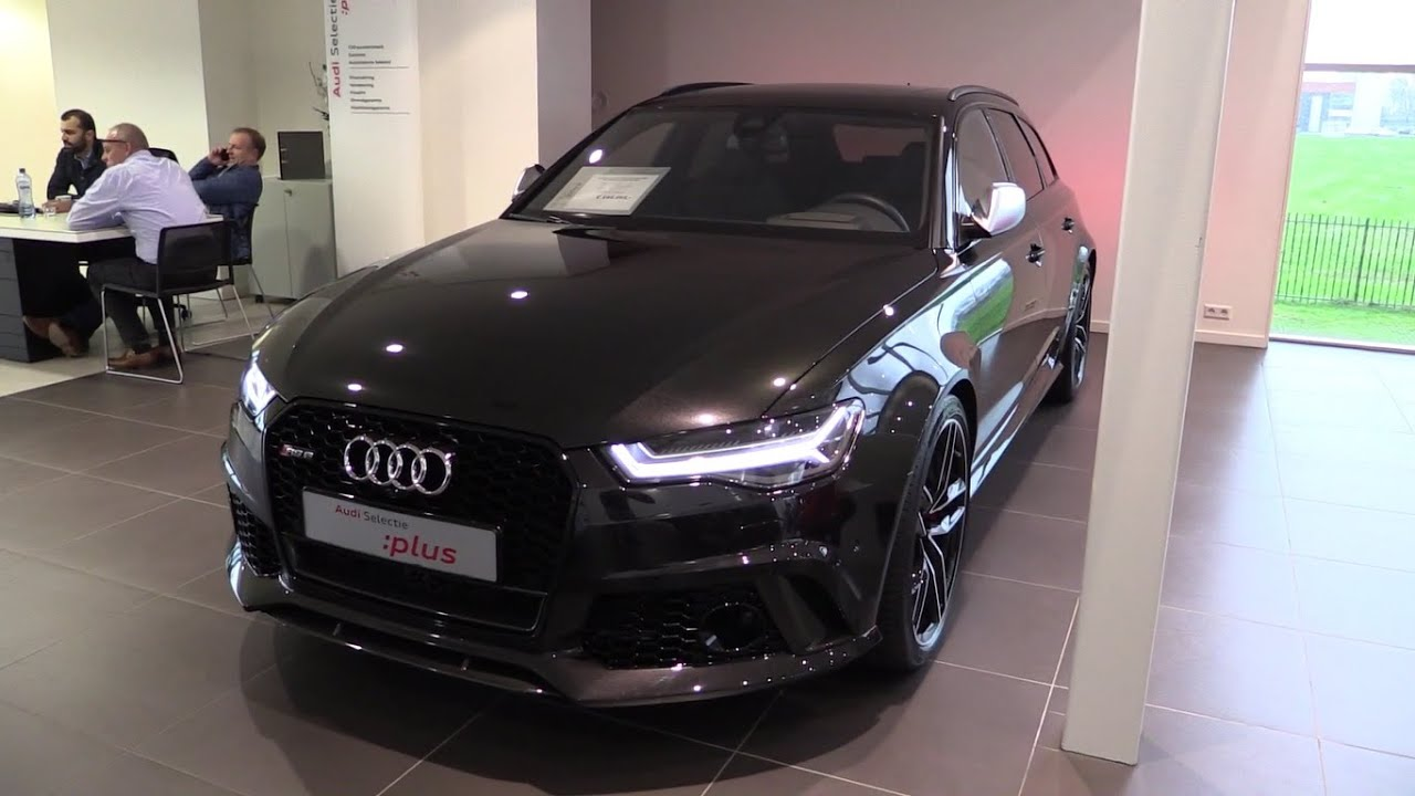 audi rs6 2017 start up exhaust sound in depth review. Black Bedroom Furniture Sets. Home Design Ideas