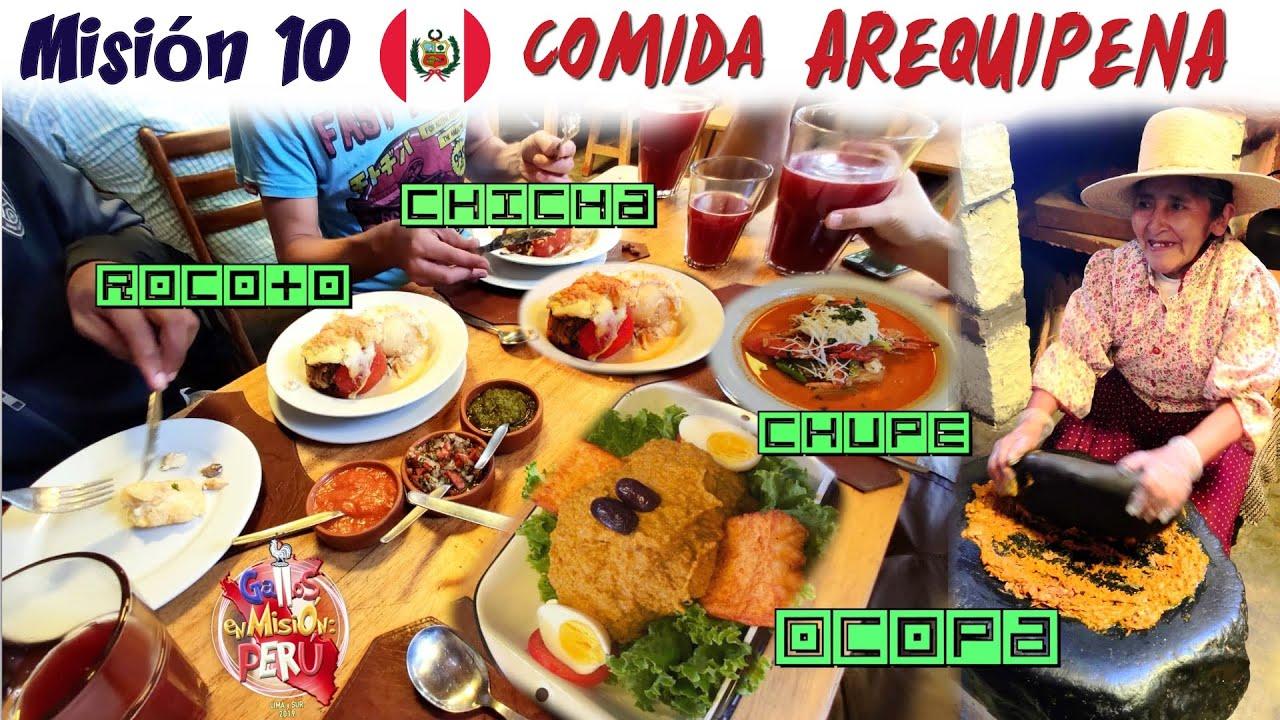 🇵🇪#10 PRIMERA VEZ probando COMIDA AREQUIPEÑA y ... 🇫🇷 | Travel | Perú