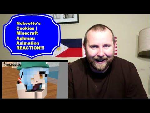Nekoette's Cookies | Minecraft Aphmau Animation REACTION!!!