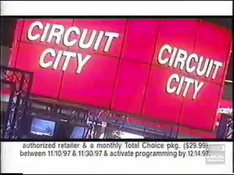 DirecTV at Circuit City | Television Commercial | 1997