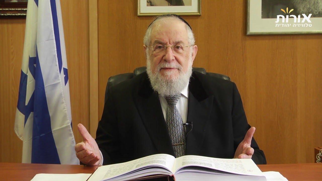 'Blood libel' -  Rabbi Lau on Parashat Acharei Mot